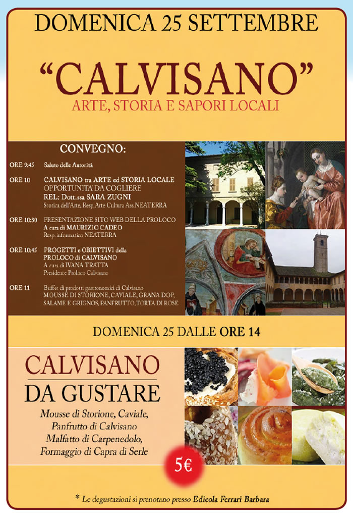 Convegno a Calvisano